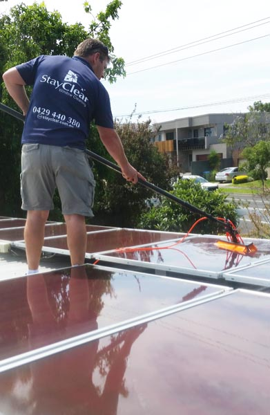 Solar Panel Cleaner Blairgowrie, Victoria.
