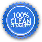 one hundred percent window clean guarantee