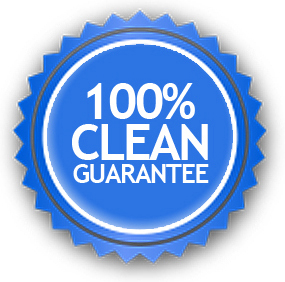 100% window clean guarantee