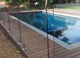 window cleaning shoreham pool fence glass