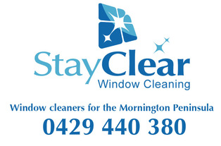 window cleaner logo for Safety Beach3936