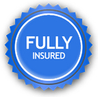 fully insured window cleaner