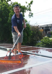 Solar Panel and window cleaning in Mt Martha
