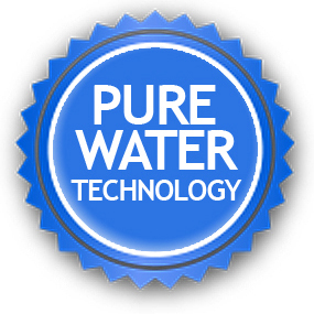 Cleaner uses Pure Water Technology