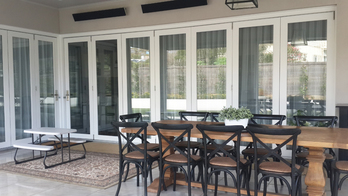 window cleaner service - cleaned patio