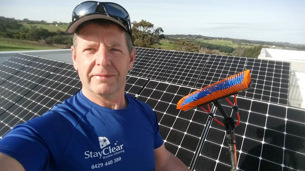 solar panel cleaning Mornington Peninsula